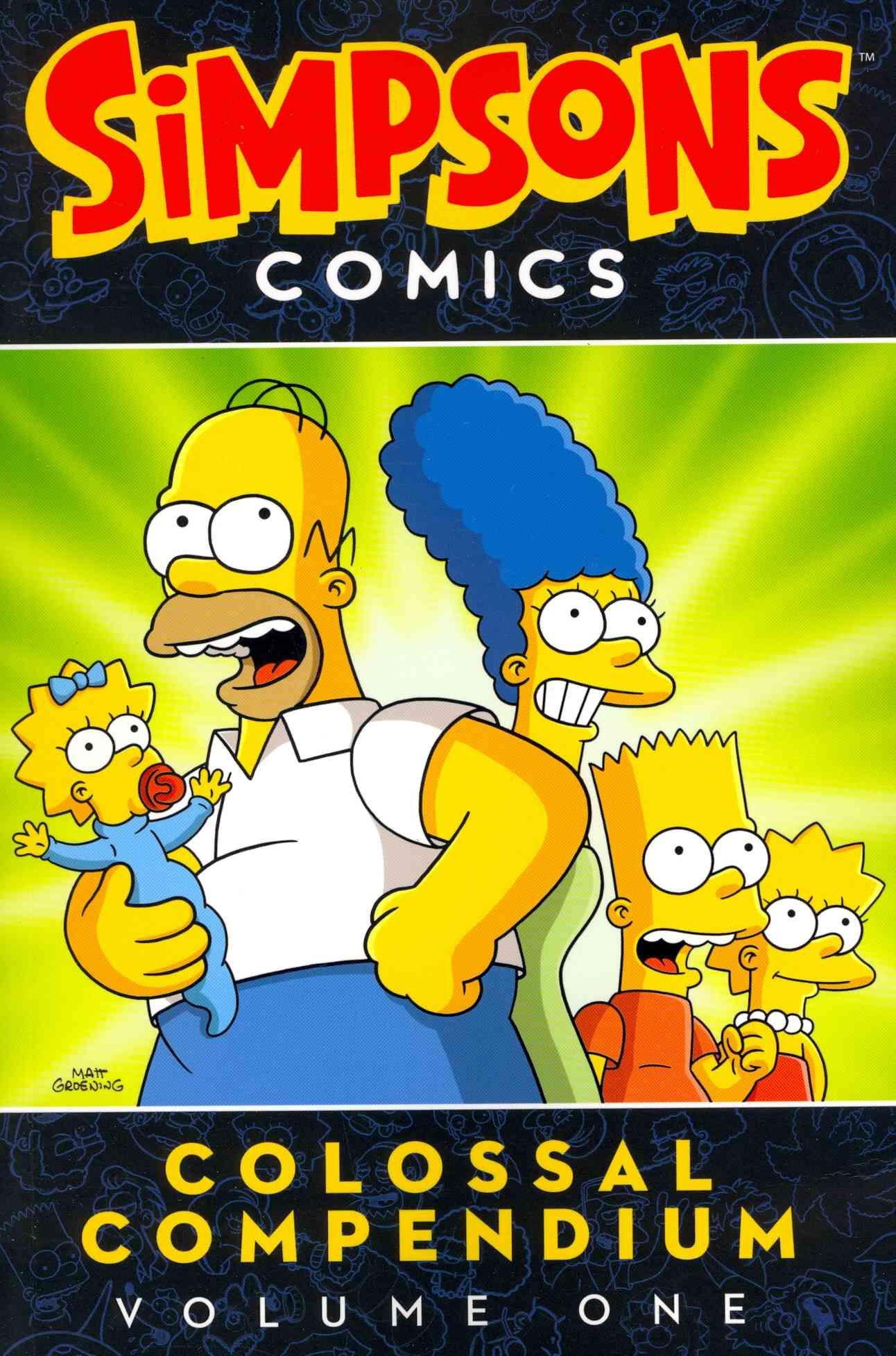 Simpsons Comics Colossal Compendium 1 By Groening, Matt